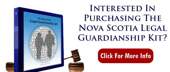 Nova Scotia Legal Guardianship Kit