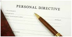 Personal Directive